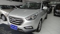 Hyundai IX35 GLS 2.0 Aut Flex 2016, Couro, Multimidia, Revisões Concessionária, Periciada