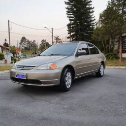 Honda Civic LX 2003 Manual - Impecável