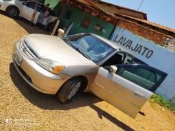 Honda Civic LX 2002 completo mais lindo de Goiânia
