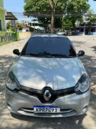 Renault Clio 4 portas completo 2014  com 76 mil km 2020 vist. GNV geração 5 injetado