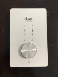 Interface de audio placa dois canais para macbook modelo duet apoge