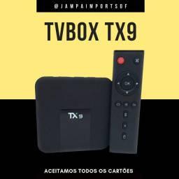 TV BOX LINHA PROFISSIONAL TX9 // PRODUTO NOVO COM GARANTIA
