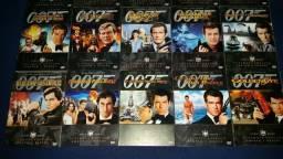 Box 21 DVD´s originais filmes 007 comprar usado  São Vicente