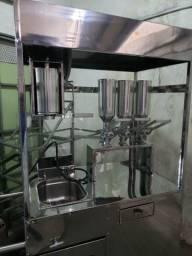 Maquina de churros doce de leite chocolate e misterioso