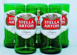 Vendo Jogo de 6 copos da Stella 250ml !!!