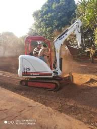 Bob Cat 325 2013 mini escavadeira