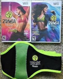 Kit Zumba Nintendo Wii