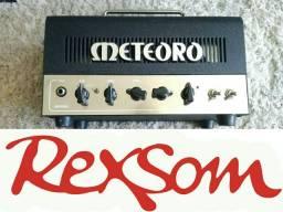 Amplificador valvulado meteoro p guitarra rexsom ac troca