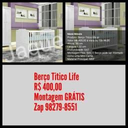 Berço Titico Life/ Montagem em 48h.