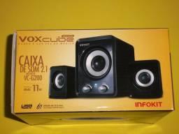 Caixa de Som USB 2.1 VoxCube VC-G200