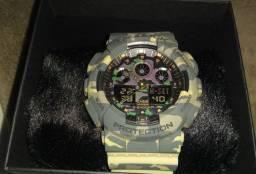 Relógio Casio G-shok G -A 100 camuflado