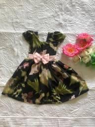 Vestido (NOVO) 4 - 5 anos