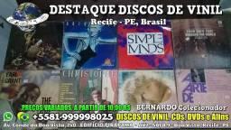 Destaque Discos de Vinil, CDs e DVDs - Boa Vista, Recife PE