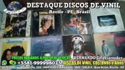 Discos de Vinil, CDs e DVDs, Visite Nossa Loja, Na Boa Vista, Recife - PE