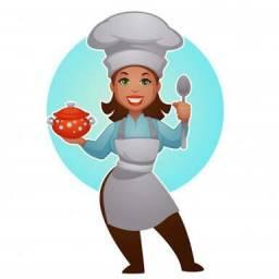 Cozinheira profissional
