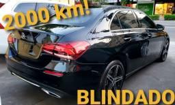 Mercedes-Benz A 200 SEDÃ 2020/2020 Blindado 2000 KM