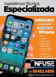 Troca de Display iPhone 5 ao 11 Pro Maxx