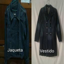 Combo Jaqueta e Vestido Jeans
