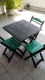 Veneo conjunto de mesa dobravel
