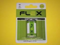 Bateria Alcalina 9V Flexgold - FX-9K1