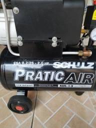 Compressor Schulz CSA 8,2 / 25 litros