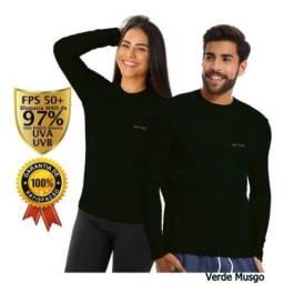 Camisa UV Cores diversas Adulto e Infantil