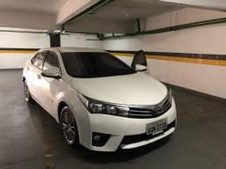 Vendo Corolla Toyota blindado 2017 branco blindado R$ 94.999,00