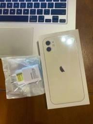 Iphone 11 64GB Branco + Carregador Rápido