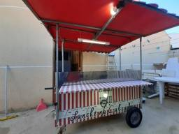 Carrinho Hot Dog/Lanches