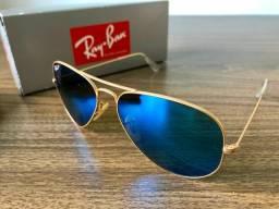 Óculos Ray-Ban Aviator Large Metal Polarizado