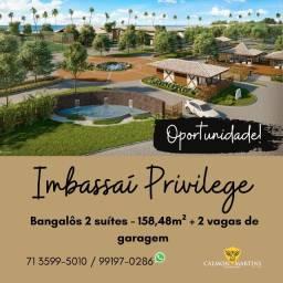 Imbassaí Privillege - Bangalôs 2 suítes, 158m²