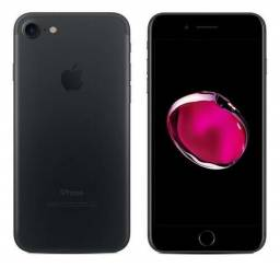 Iphone 7 preto Matte 32gb - novo - nota fiscal