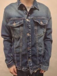 Jaqueta jeans em perfeito estado
