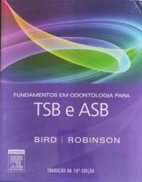 Livro para quem está curso de auxiliar de odontologia TSB e ASB