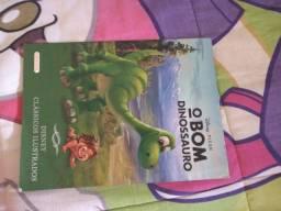 Livro o bom dinossauro.