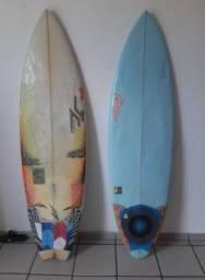 HENNEK EggStyler 6.0 29L + JC Hawaii White Fang 31L As duas por 390 reais!!!!!!!