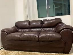 Sofá em couro