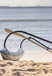 canoa suporte para iako