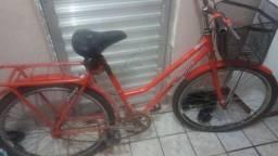 Bicicleta zumi usada com documento