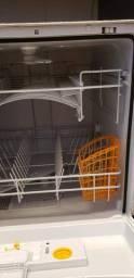 Lava louça Brastemp 8 serviços na cor cinza