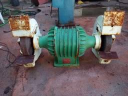 Esmeril Industrial trifasico 220 /380 /440 v funcionando