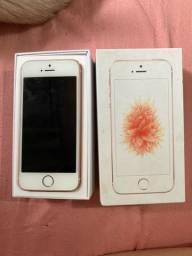 iPhone SE Ouro Rosa 64GB