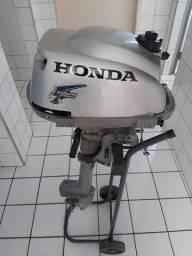 Motor de Popa Honda 4 tempos 2 HP novinho em folha e pouco uso