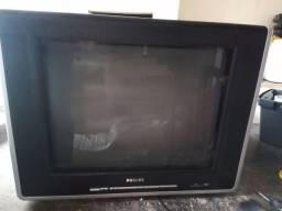 Tv tubo Philips 21 polegadas com controle