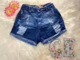 Short jeans (Novo), TAM 40, Apenas 43 reais