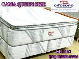 cama queen size - mega promoção 74