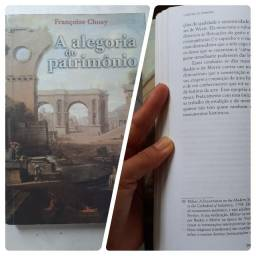 Livro A alegoria do patrimônio - Françoise Choay