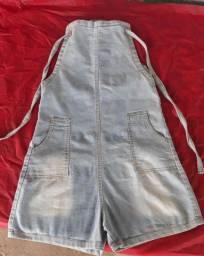 Título do anúncio: Macaquinha jeans nova