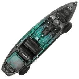 Caiaque Brudden - Samurai Fishing com Cooler 30LT usado ótimo