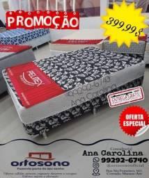 Cama Box Casal, Frete- gratis